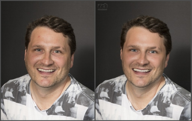 Before and After Portrait